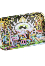 """Dunkees 13"""" x 9"""" Rolling Tray - All Eyez on Me"""