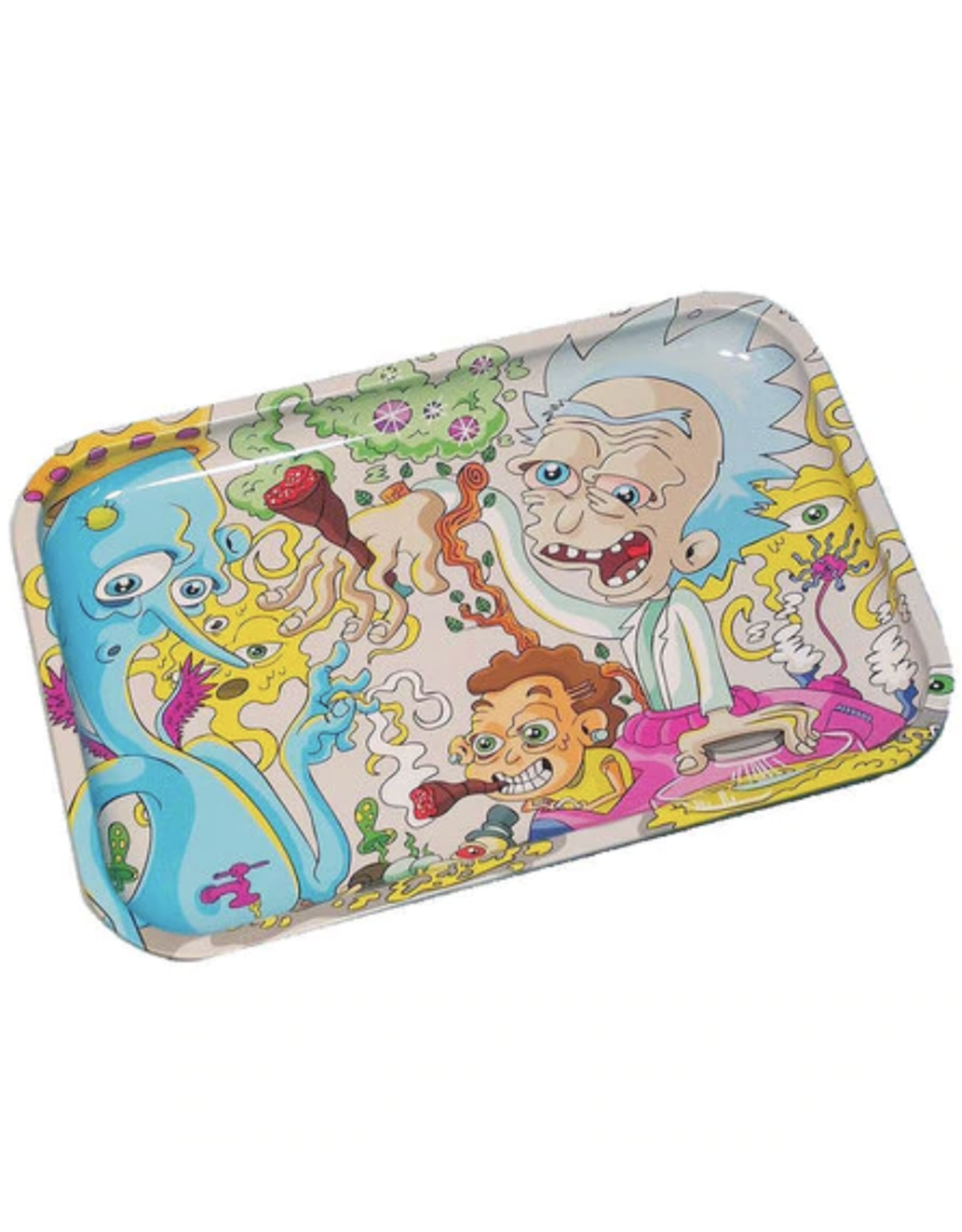 """Dunkees 13"""" x 9"""" Rolling Tray - Get Swifty"""