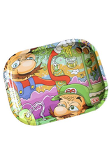 """Dunkees 5.5"""" x 7.5"""" Rolling Tray - Candy Land"""