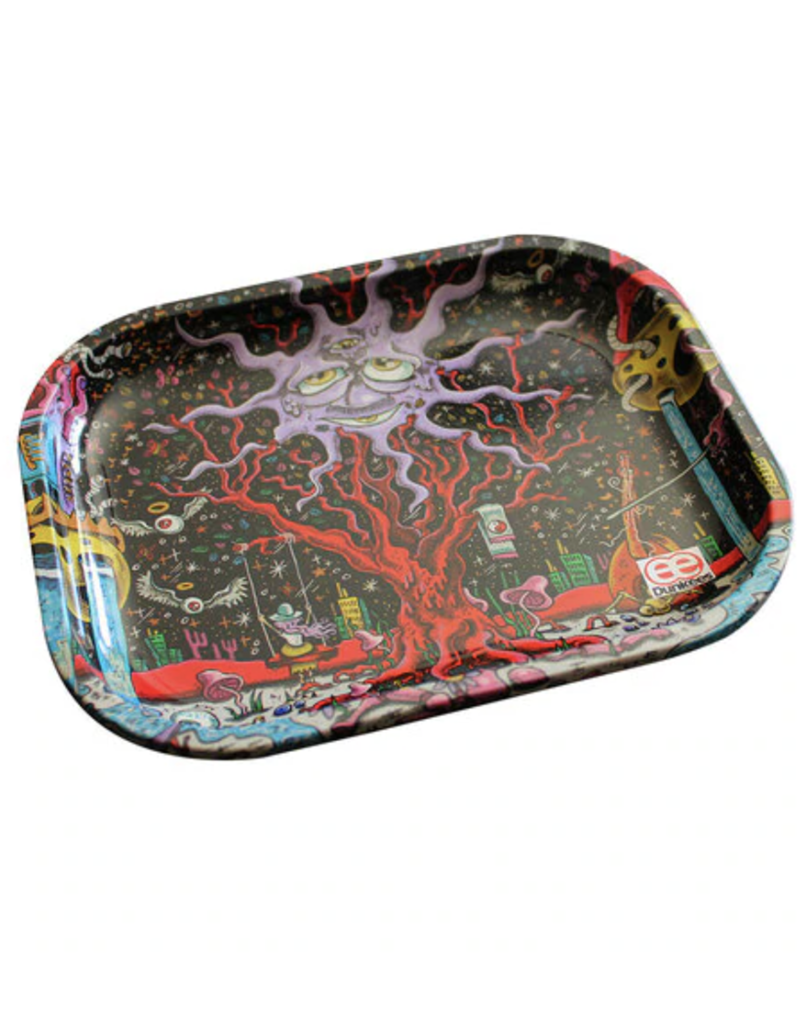"""Dunkees 5.5"""" x 7.5"""" Rolling Tray - Happy Tree"""