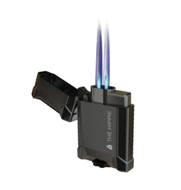 The Hippie Pipe - Double Jet Flame Torch Lighter