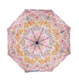 Travel Umbrella - Pink Medallion
