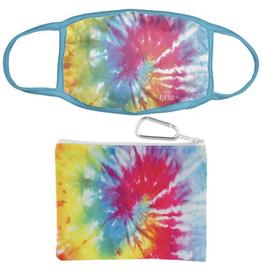 Rainbow Face Mask w/ Case