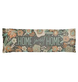 Long Lumbar Pillow - Home Sweet Home
