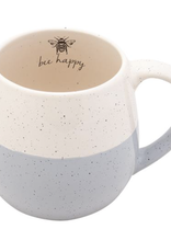 Hand Dipped Speckled Mug - Bee