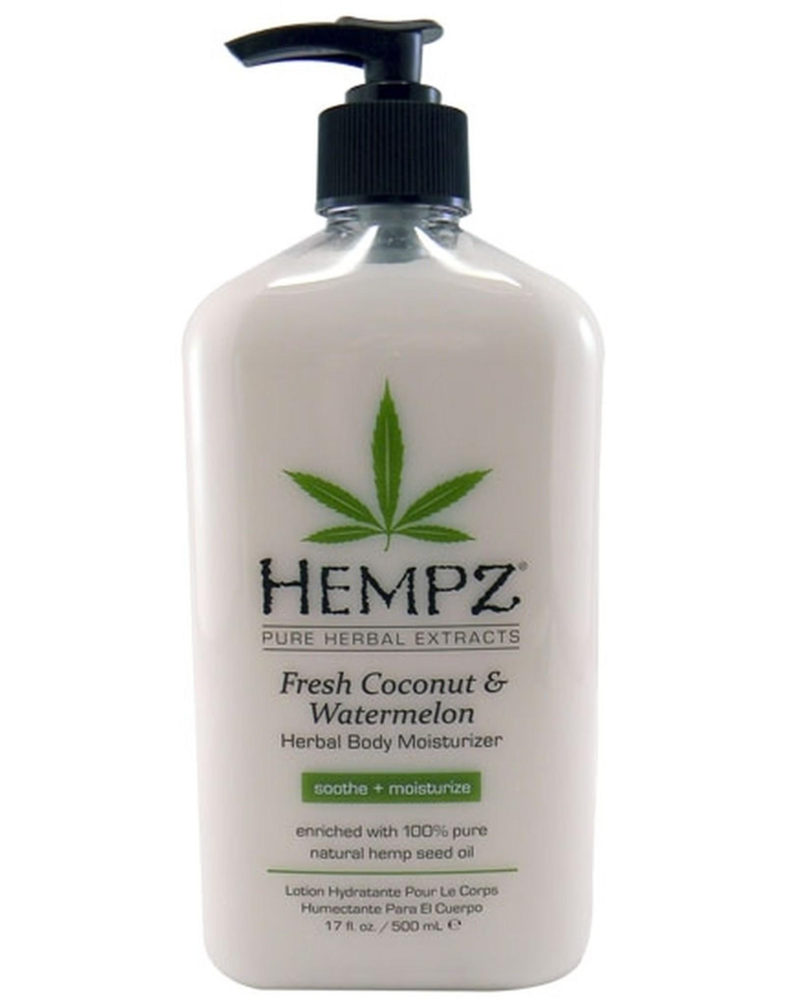 Hempz Hempz Coconut & Watermelon Moisturizer 17 oz