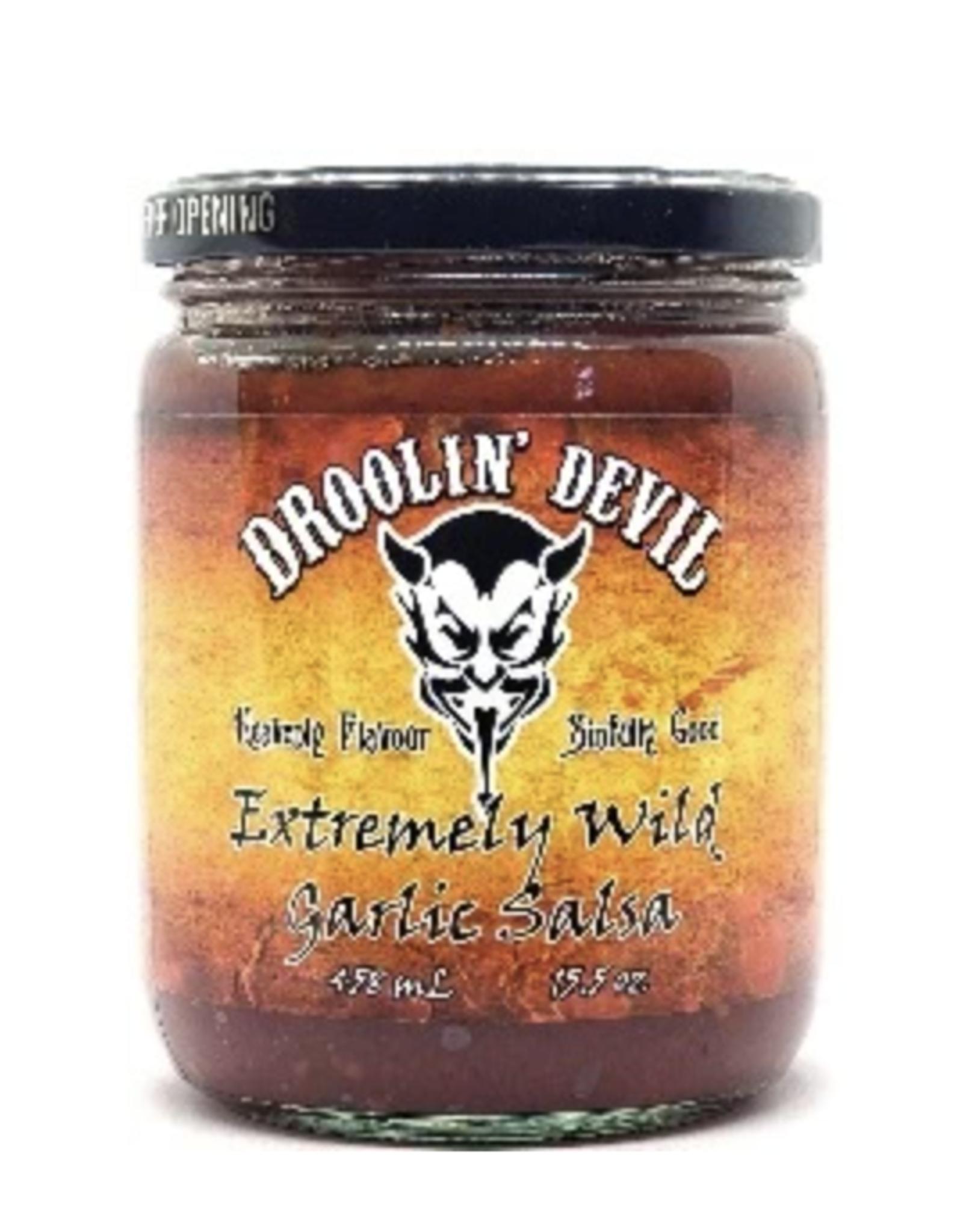 Droolin' Devil Sinfully Wild Garlic Salsa