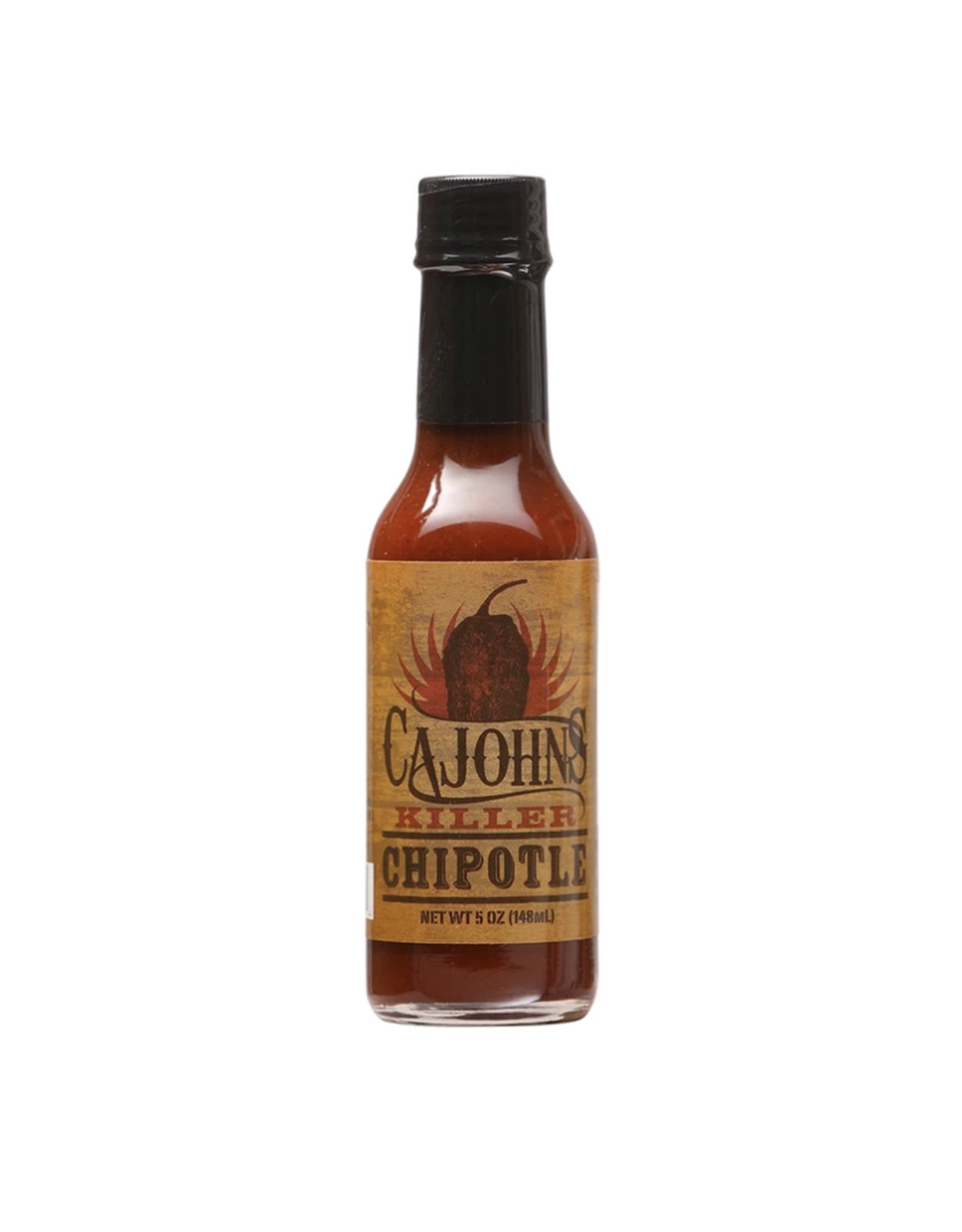 Cajohns Killer Chipotle Hot Sauce