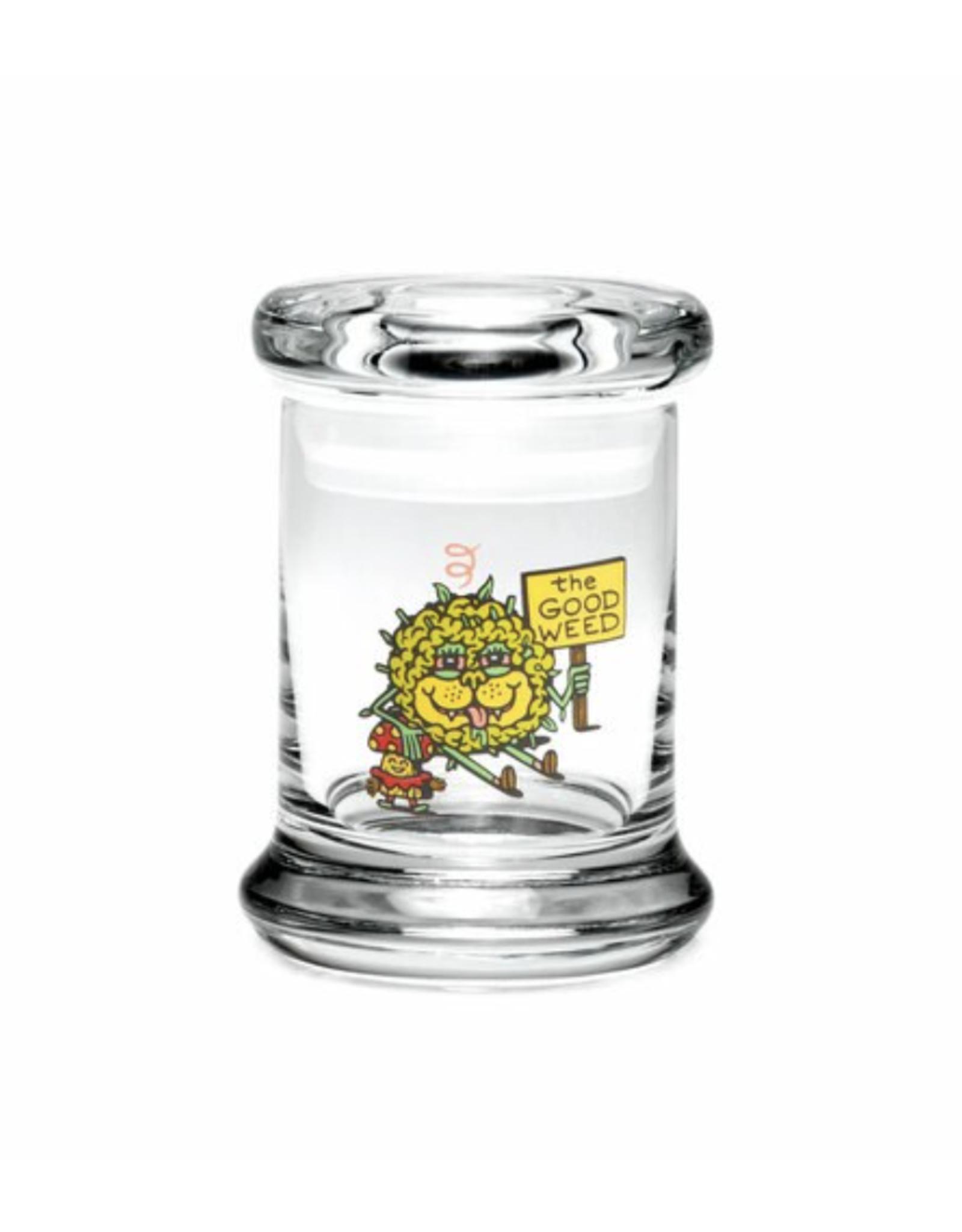 420 Science Pop Top Jar - The Good Weed