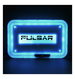 """11"""" x 7"""" Light-Up Rolling Tray by Pulsar"""