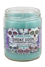 Smoke Odor 13oz. Candle - Sugar Skull