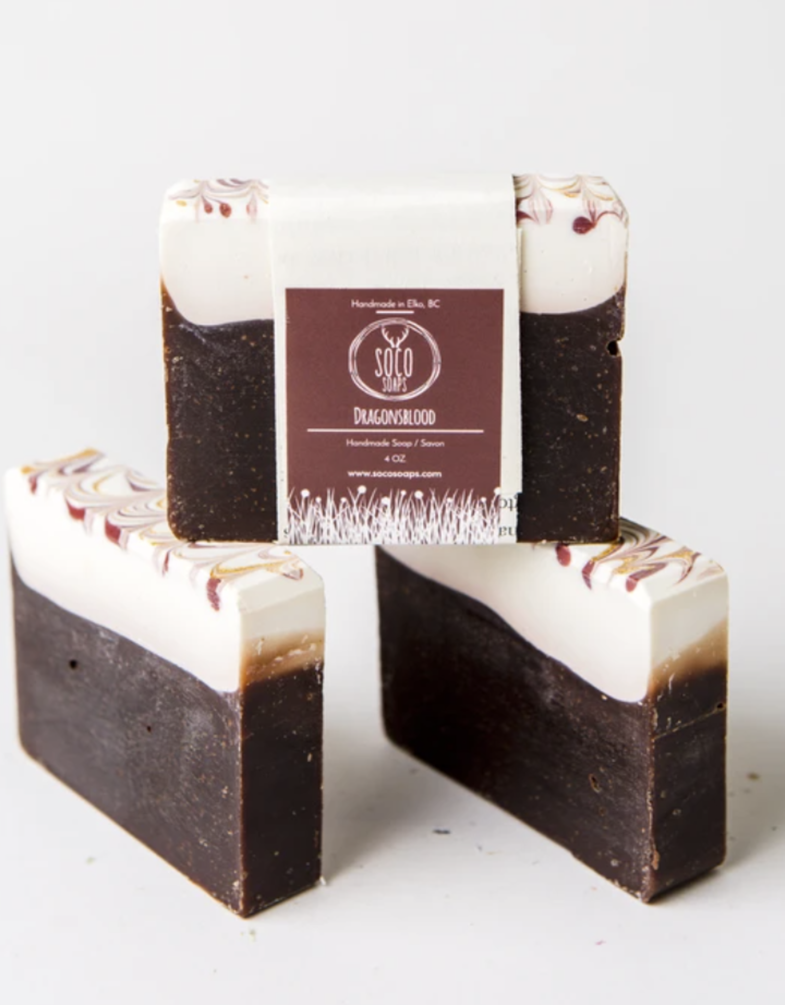 Dragon's Blood Soap by Soco Soaps