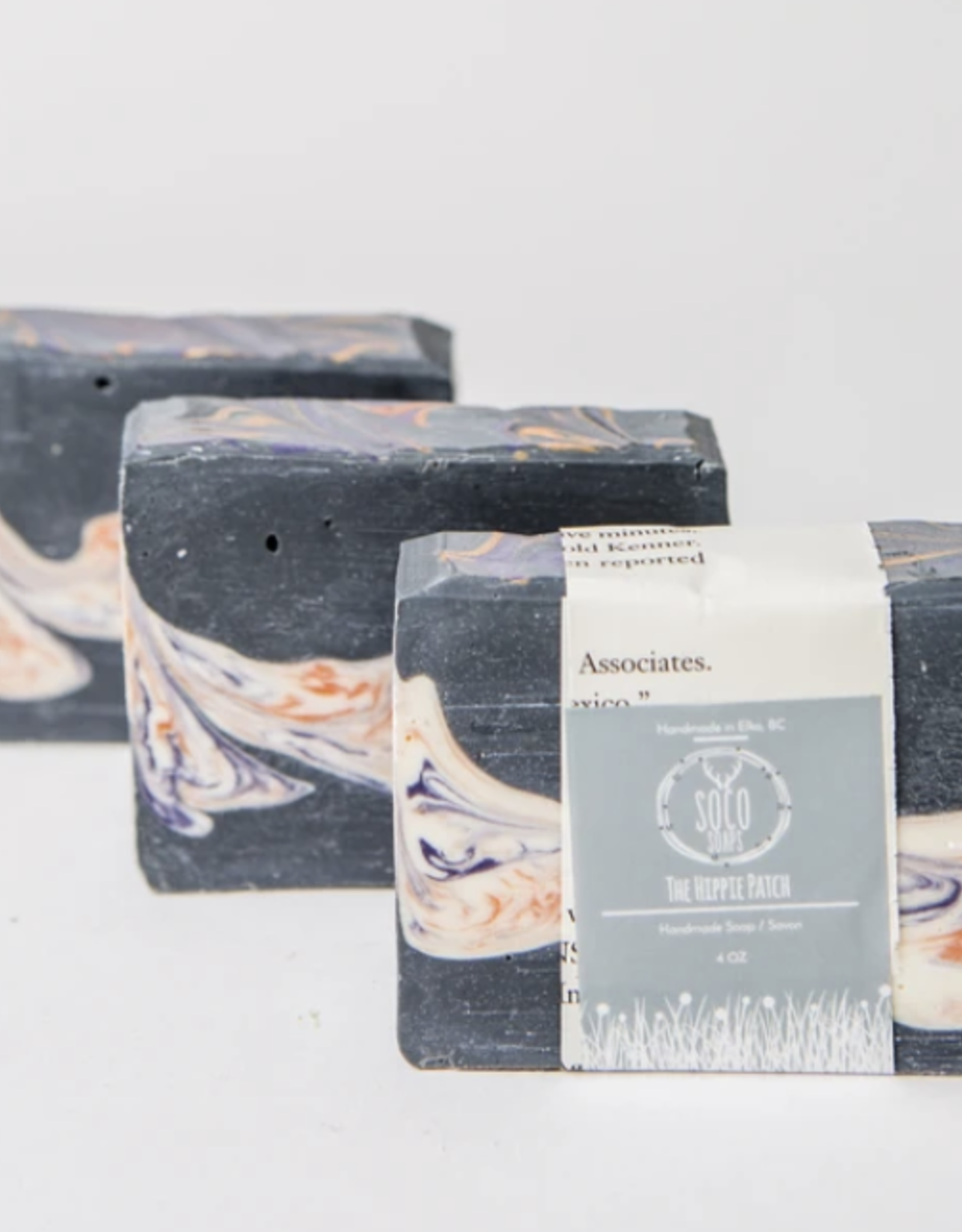 The Hippie Patch Soap by Soco Soaps