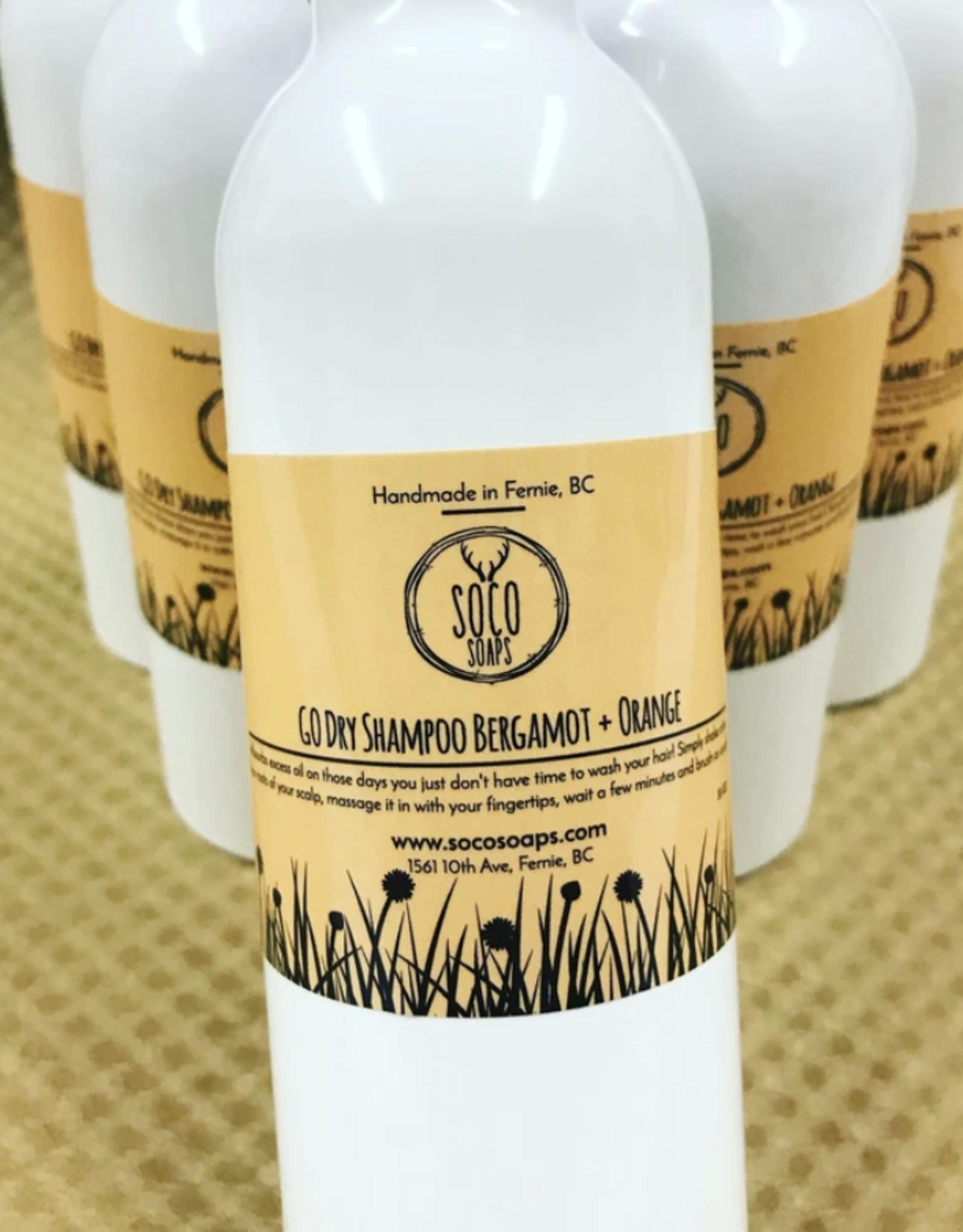 Go Dry Shampoo - Bergamot + Orange