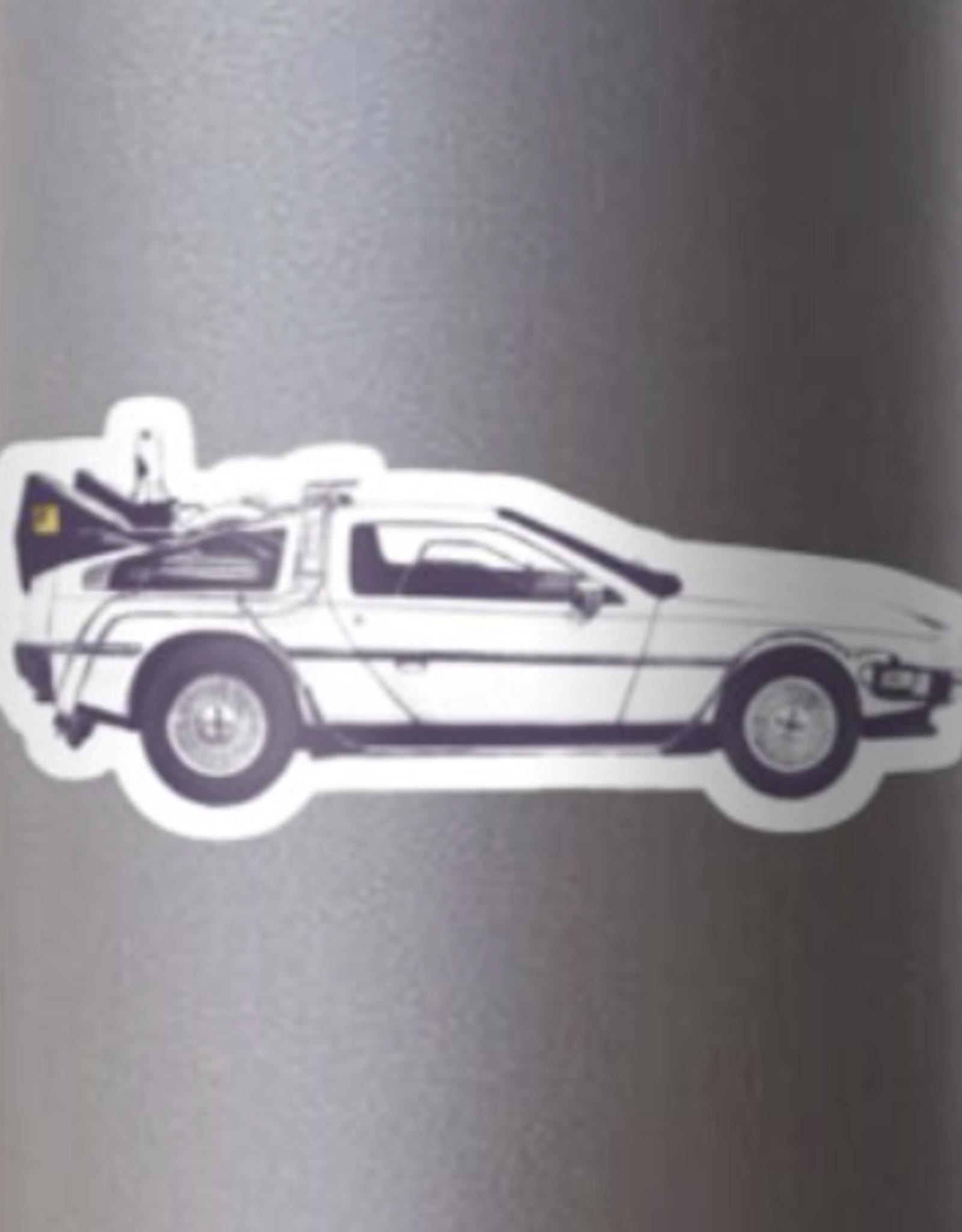 Delorean Sticker