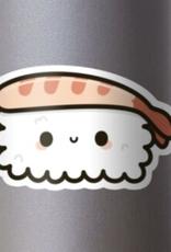 Cute Prawn Sushi Sticker
