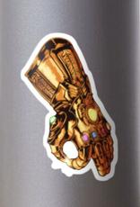 Infinity Gauntlet - Circle Game Sticker