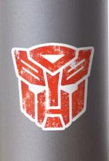 Distressed Autobots Logo Sticker