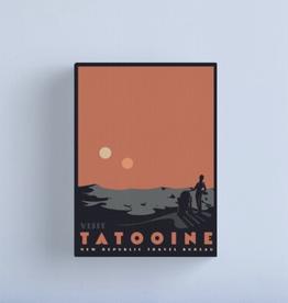 Visit Tattooine Canvas - Medium