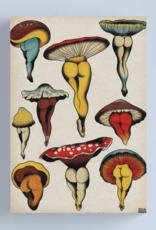 Sexy Mushrooms Tattoo Flash Canvas - Medium