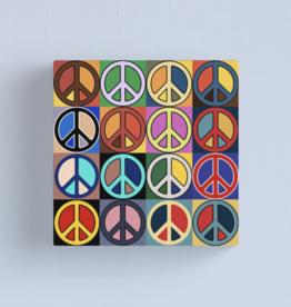 Peace Mosaic Canvas - Large