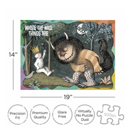 Where the Wild Things Are Puzzle - 500 Piece