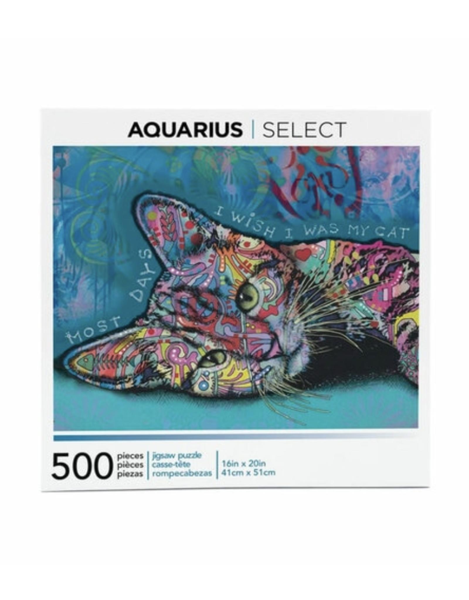 Dean Russo Cat Puzzle - 500 Piece
