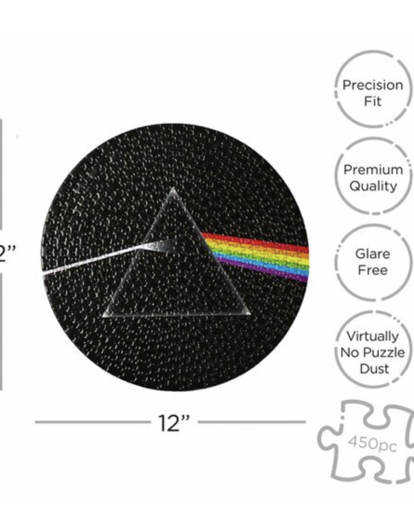 Pink Floyd Dark Side of the Moon Puzzle - 450 Piece