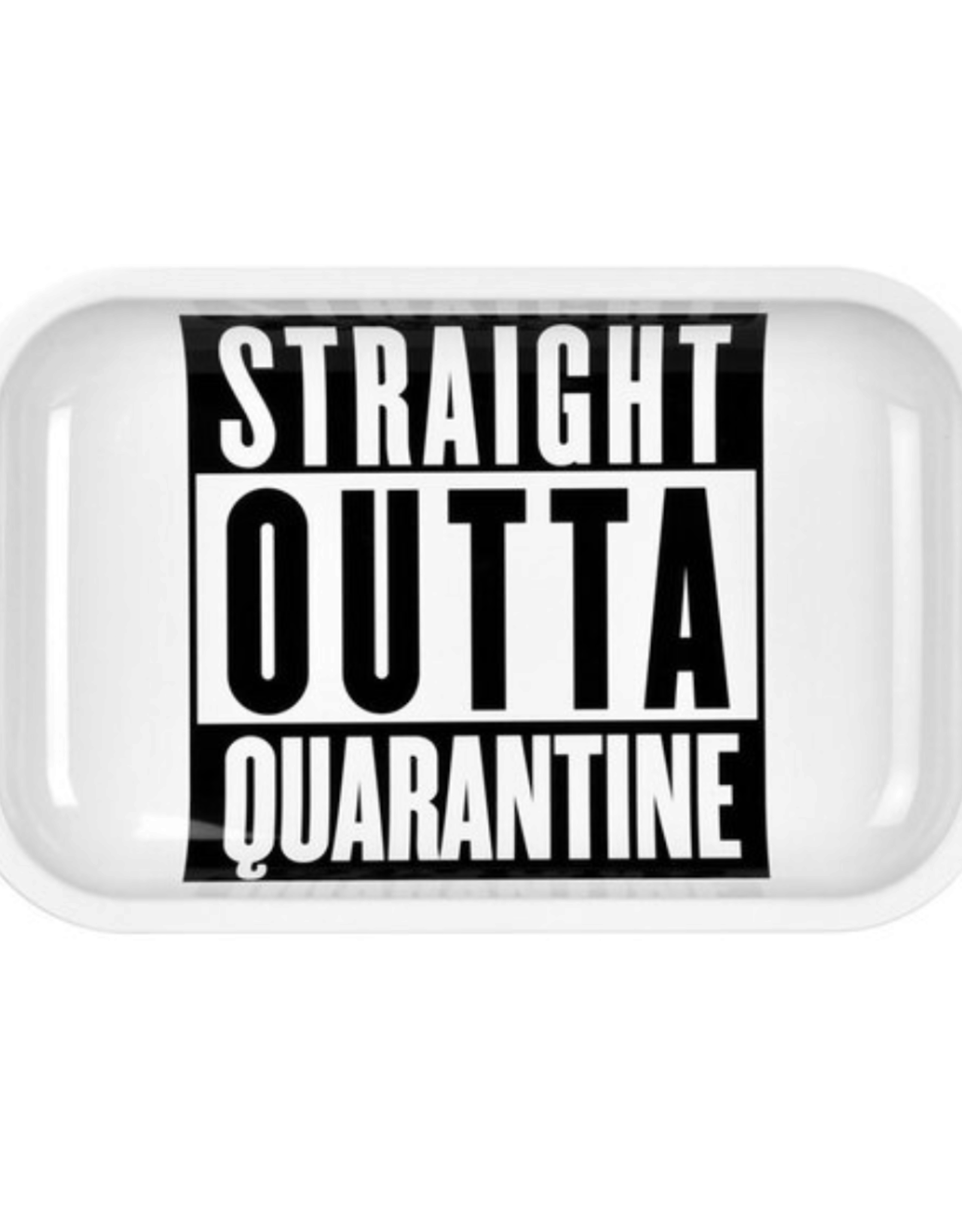 "Pulsar Pulsar 11"" x 7"" Rolling Tray - Straight Outta Quarantine"