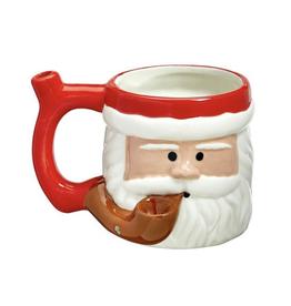 Premium Roast & Toast Mug w/Pipe - Santa