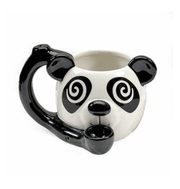 Premium Roast & Toast Mug w/ Pipe - Panda