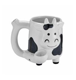 Premium Roast & Toast Mug w/ Pipe - Cow
