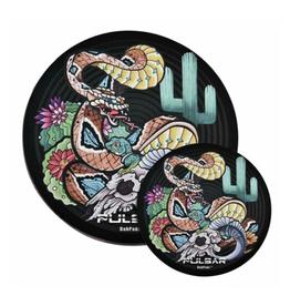 Pulsar Psychedelic Rattlesnake Dab Mat by Pulsar DabPadz