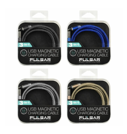 Pulsar Pulsar 3.2' Magnetic 3-in-1 USB Charger