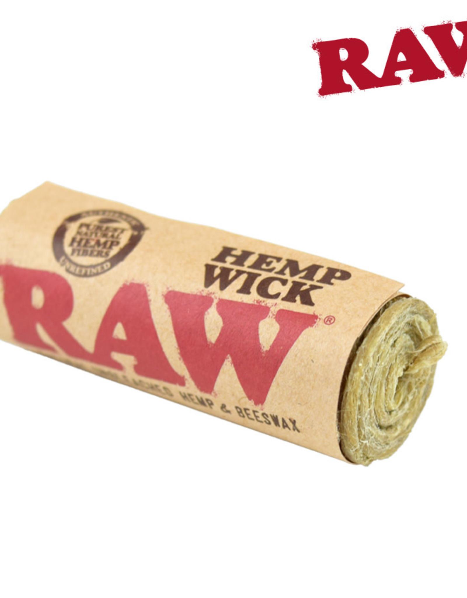 RAW RAW Hemp Wick 20' Roll