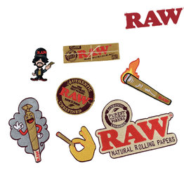 RAW RAW Patches - 7 Assorted Patches
