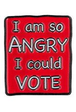 So Angry I Could Vote Enamel Pin