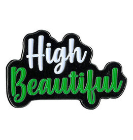 High Beautiful Enamel Pin