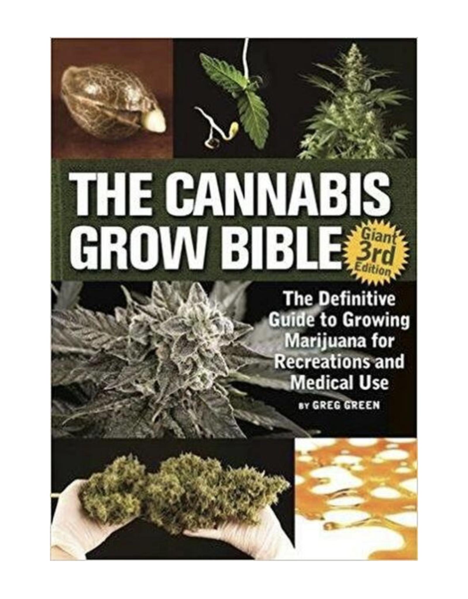Cannabis Grow Bible Version 3 by Greg Green