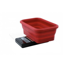 Truweigh - Crimson - Collapsible Bowl Scale 200g x 0.01g