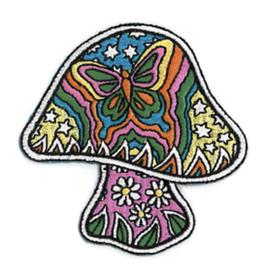 Dan Morris Butterfly Mushroom Patch