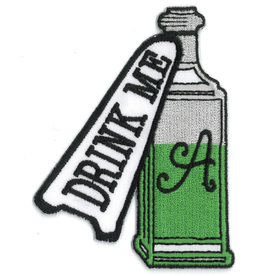 """""""Drink Me"""" Patch"""
