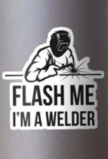 Flash Me Sticker