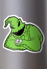 Oogie Boogie Man Sticker