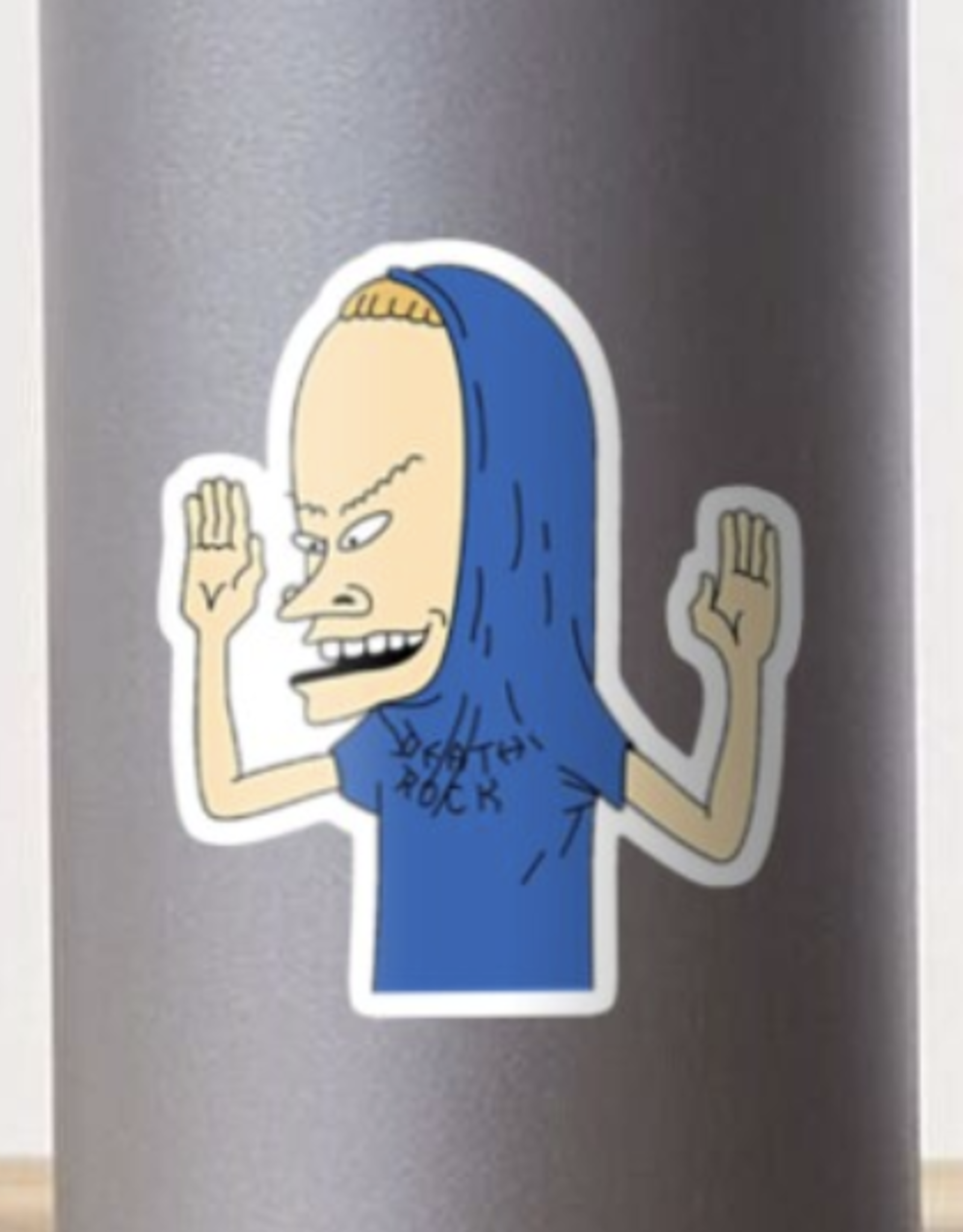 Cornholio Sticker