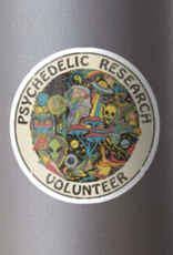 Research Volunteer Sticker