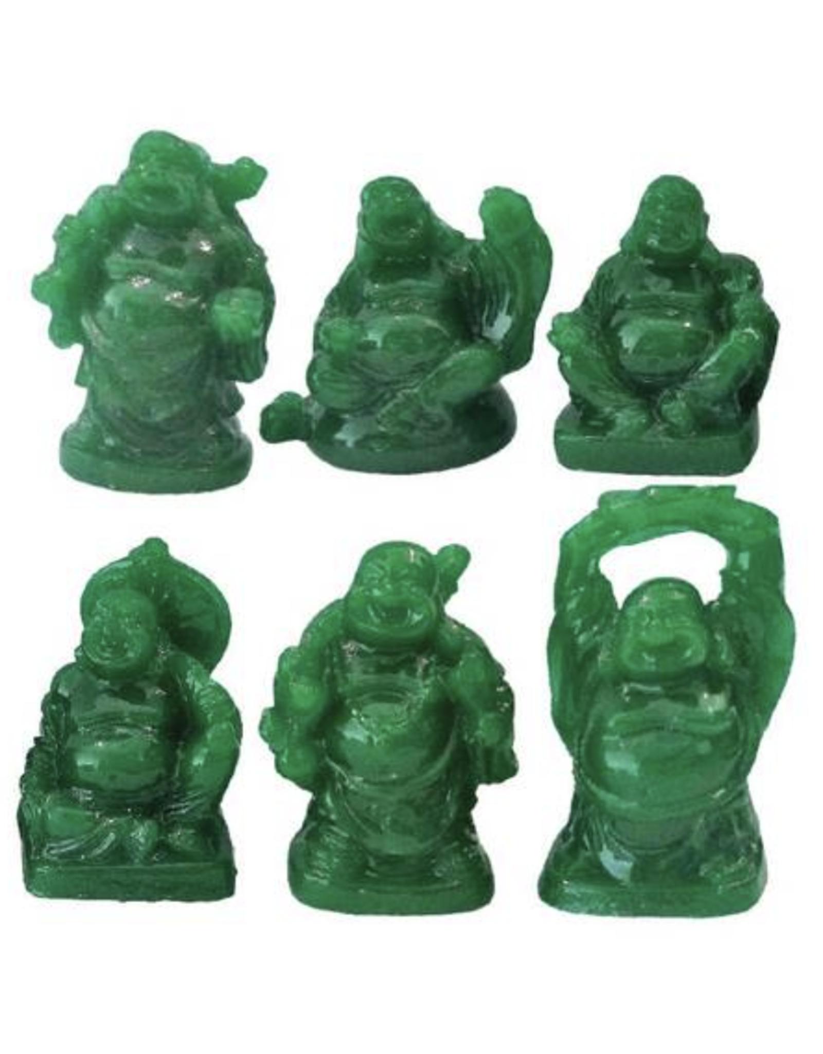 "2"" Happy Buddha - Green"