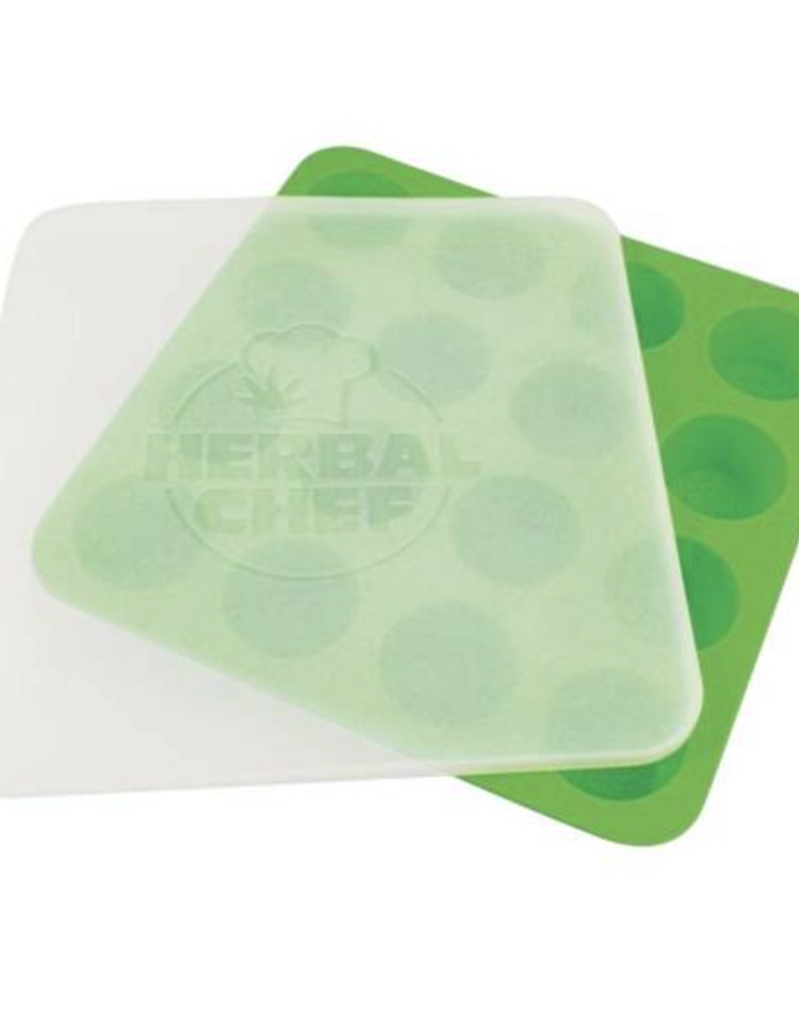 """Herbal Chef 8.5""""x8.5"""" Silicone Tray w/ Lid"""