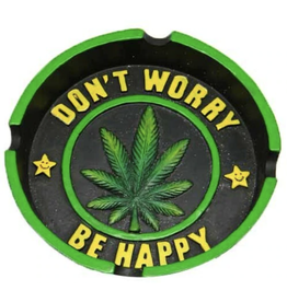 Don't Worry Leaf Ashtray