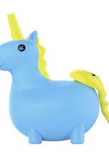 PieceMaker Silicone Unikorn Bubbler - Hikea Blue